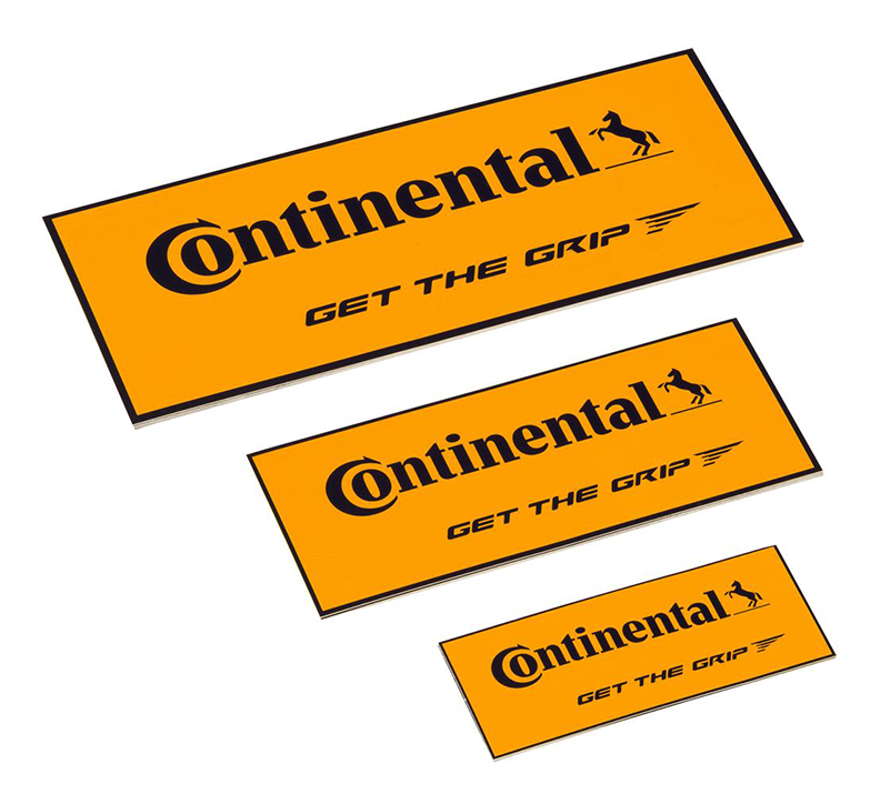 Continental POS stickerset 10
