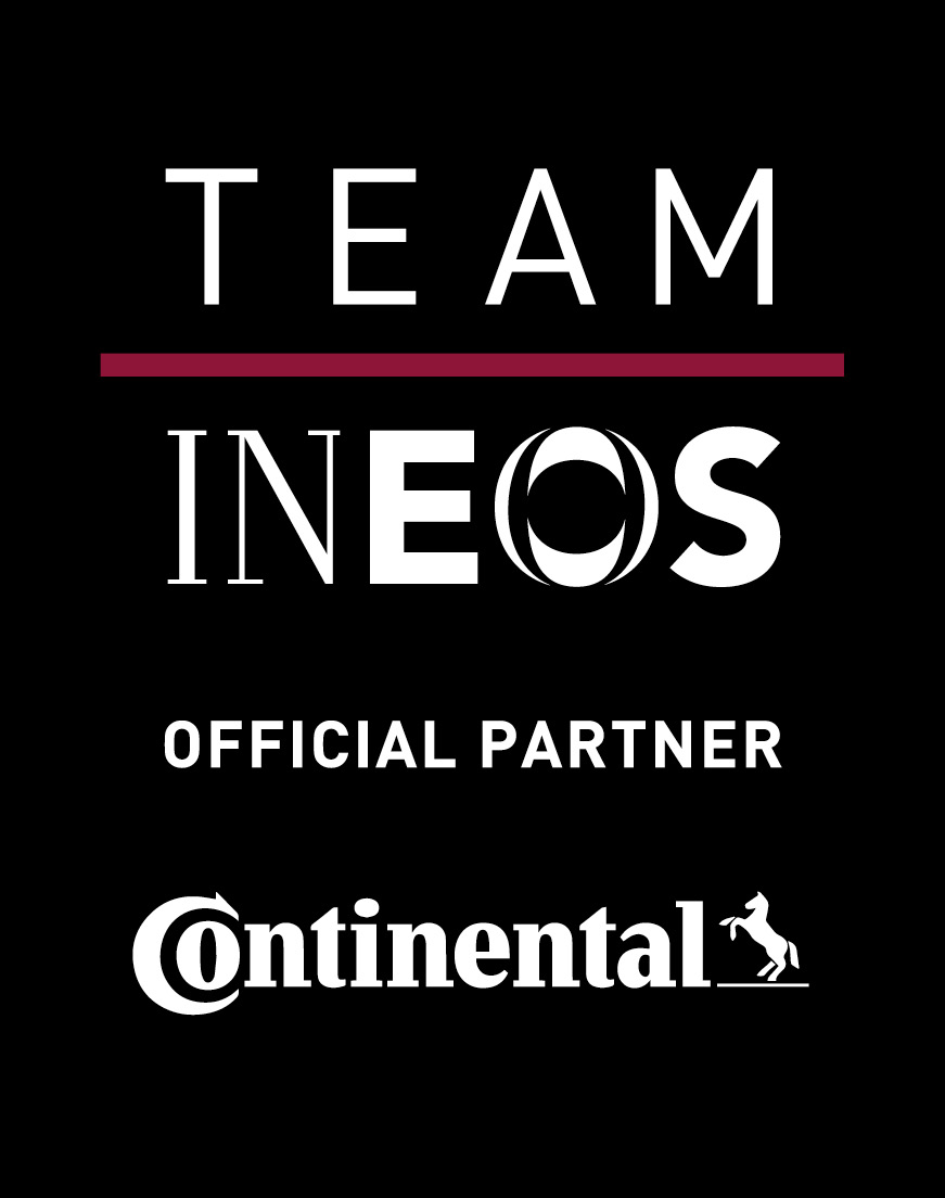 Team Ineos CONTINENTAL black STACKED